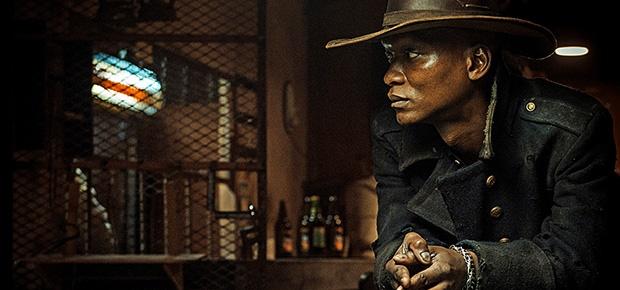 Warren Masemola in a scene from the movie Five Fin