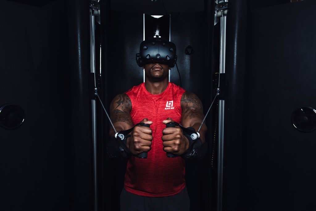 Watch: the world's first-ever virtual reality gym opens in San Francisco - for gamers and gym bunnies