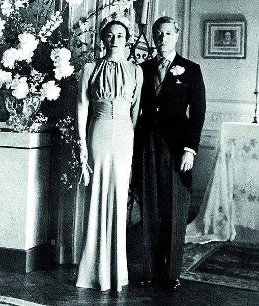 Die paar is in 1937 op 'n privaat plegtigheid in