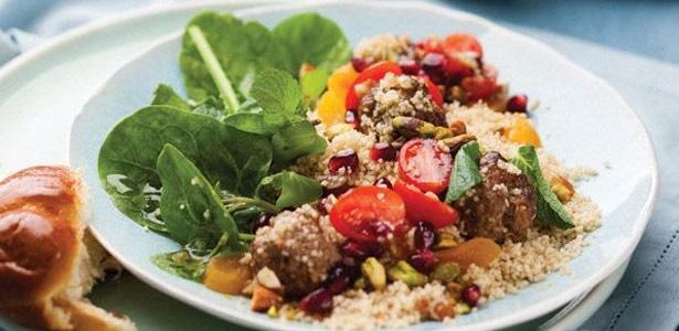 recipe, salad, beef