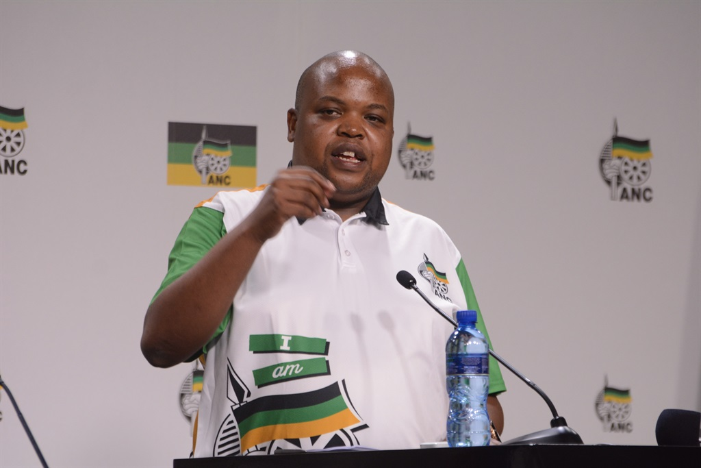 ANC Youth League president Collen Maine