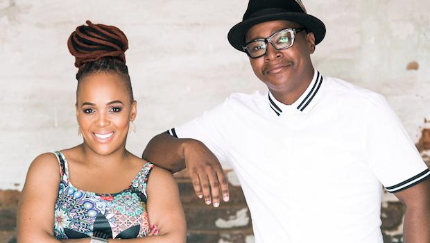 Comedians Tumi Morake and Ndumiso Lindi