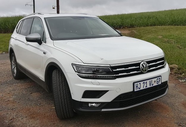 Volkswagens All New 7 Seat Tiguan Allspace Driven Most