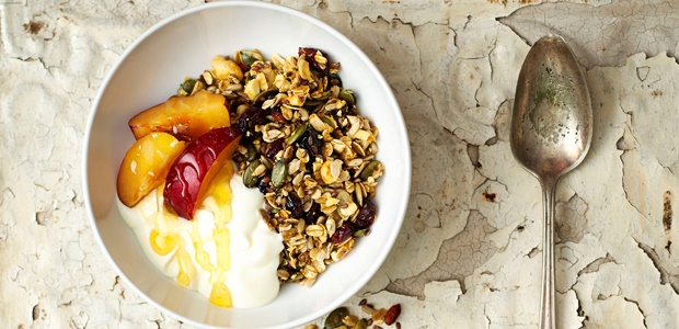 cranberry and pumpkin seed muesli