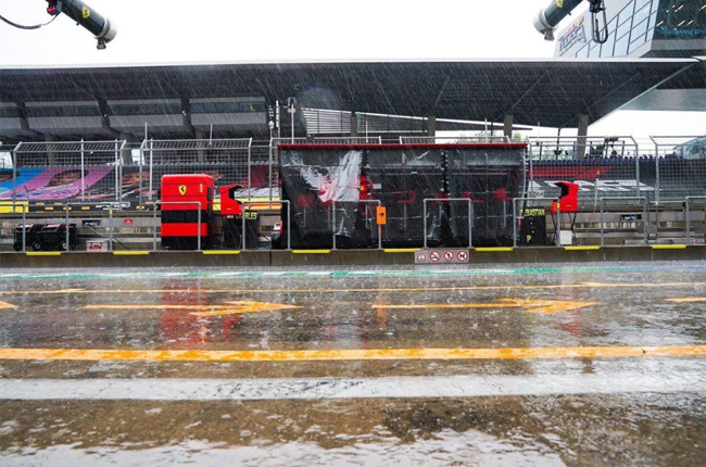 Third Practice for the Styrian GP has been cancelled due to heavy rains. (charleslechamp16 / Instagram)