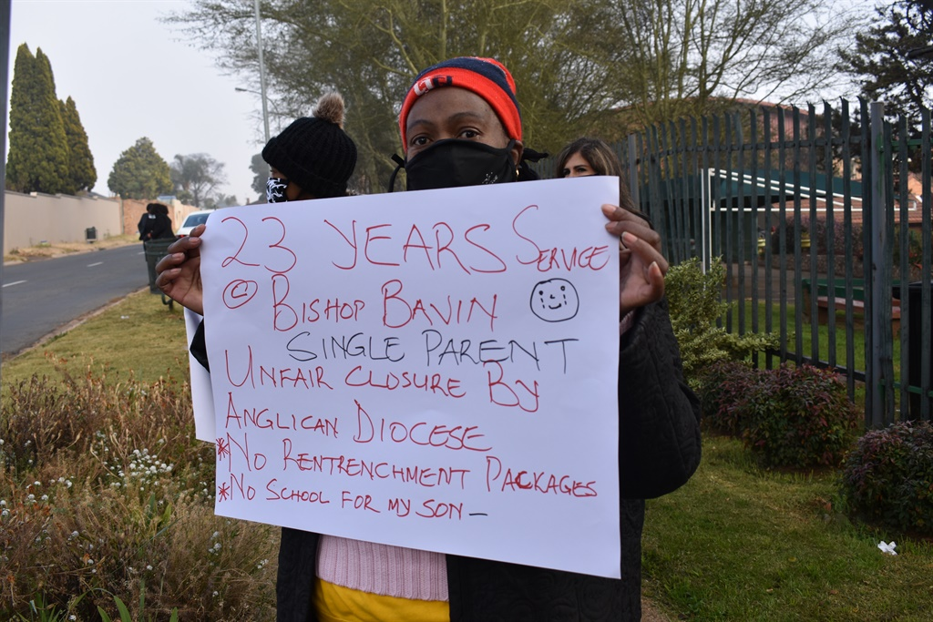 Eudoxia Mzizi has worked as a secretary at Bishop Bavin for almost 23 years before the school abruptly announced its closure.
