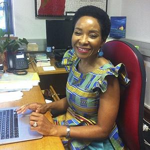 New UCT Vice Chancellor Prof Mamokgethi Phakeng. (Jenna Verster, News24)