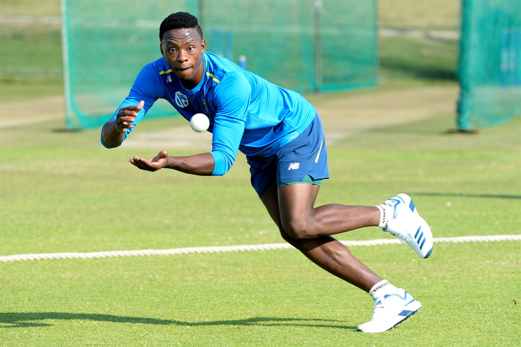 Proteas fast bowler Kagiso Rabada is raring to go in India. Picture: Lee Warren/Gallo Images