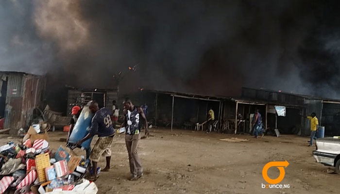 OLusosan dumpsite fire and what people are saying