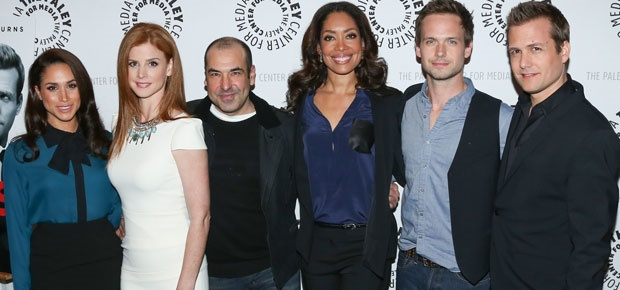 The cast of the TV series, Suits