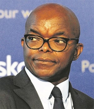 Eskom acting CEO Phakamani Hadebe. (Photo: Netwerk