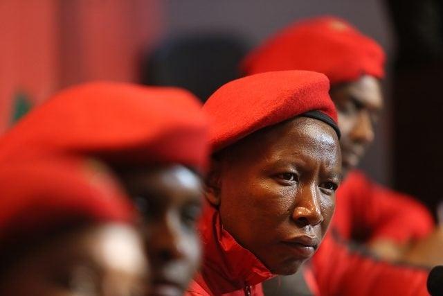 EFF leader Julius Malema. Picture: Alon skuy