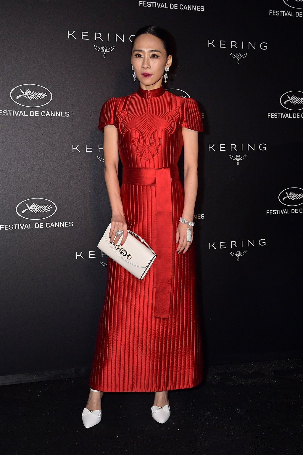 CANNES, FRANCE - MAY 19: Wu Kexi attends the Kerin