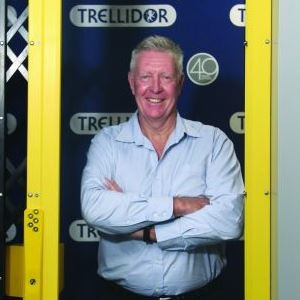Peter Rawson is the marketing director of Trellidor. (Picture: Supplied)