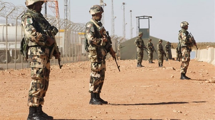 troops capture 4 terrorists and leader.