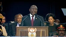 WATCH: Ramaphosa announces his new-look Cabinet