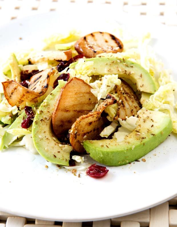avocado and pear salad recipe