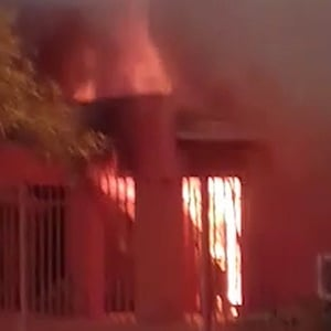 WATCH: School set alight in North West protest