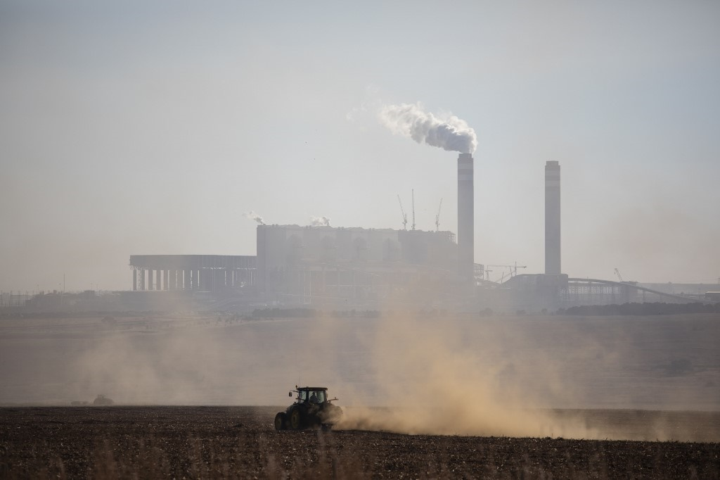 eMalahleni (Witbank) is among the worst places in the world for pollution by nitrogen dioxide and sulphur dioxide, according to Greenpeace. (Wikus De Wet, AFP)