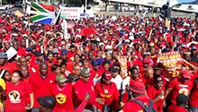 WATCH: No one can live on R20/hour – Saftu members