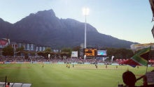 Newlands the most picturesque cricket venue? Maybe not...