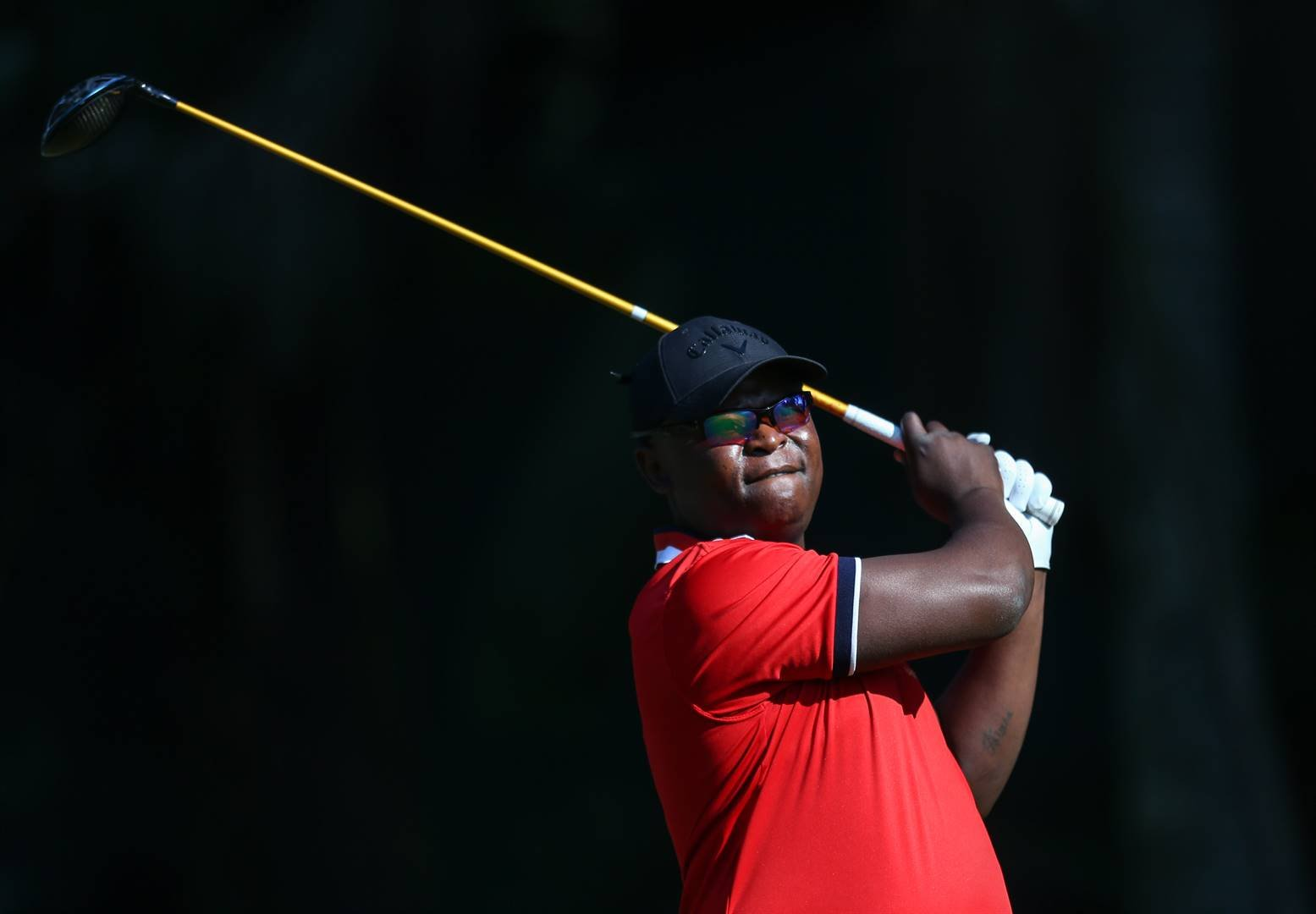 Rising star Toto Thimba during finished second at the 2019 Lombard Insurance Classic at Royal Swazi Spa Country Club last SundayPHOTO: Carl Fourie / Sunshine Tour / Gallo Images