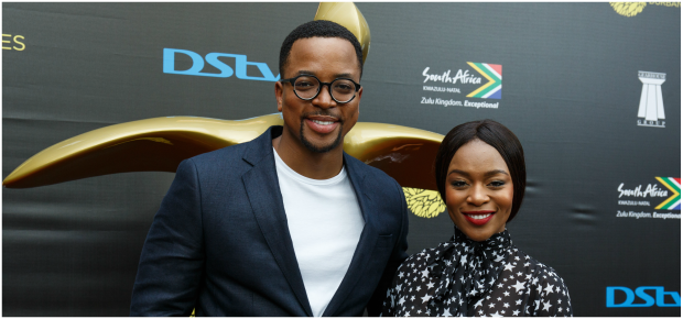 Nomzamo Mbatha and Maps Maponyane (PHOTO: Gallo images/ Getty images)