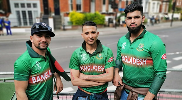 A group of mates, who all believe that Bangladesh