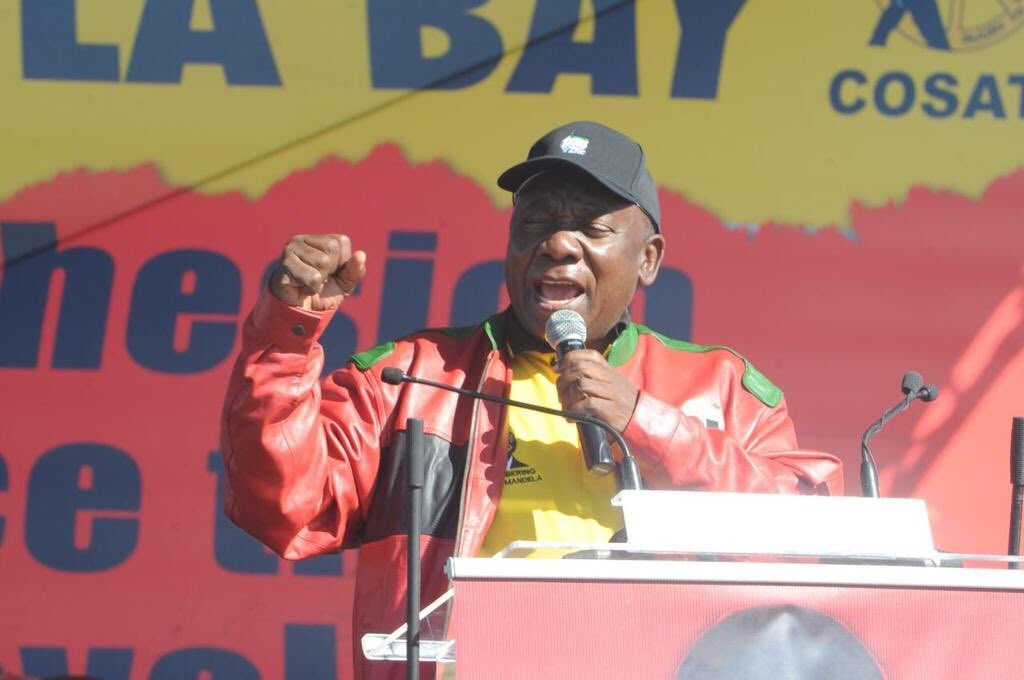 National minimum wage a 'historic' victory for workers: Ramaphosa