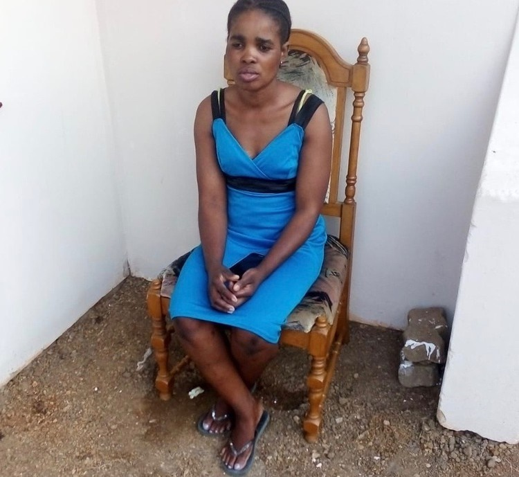 Noluvo Mathumbu has been living without an ID since 2007, because according to Home Affairs she is dead. (Musa Binda, GroundUp)