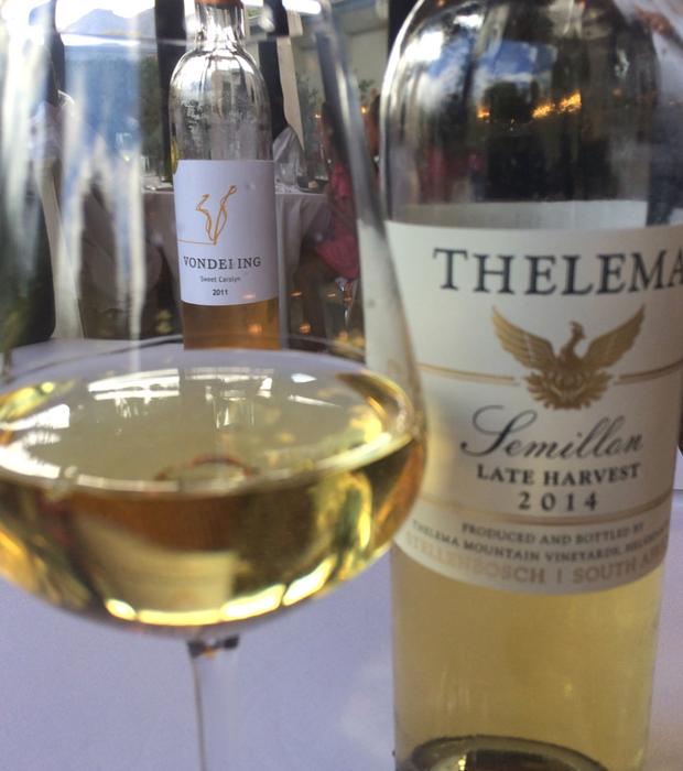 La Petite Colombe Wine Pairing