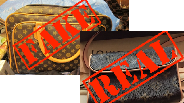 72% of the 'Louis Vuitton' bags, belts and sunglasses on Gumtree are