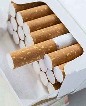 Illegal cigarette trade. (Photo: iStock)