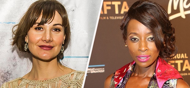 Erica Wessels and Hlubi Mboya Arnold.