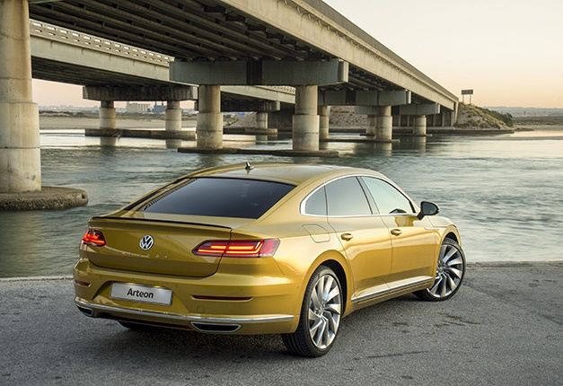 vw s flagship sedan arrives here 39 s how much the new premium arteon costs in sa wheels24. Black Bedroom Furniture Sets. Home Design Ideas