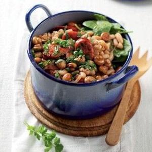 recipe, dinner, beans