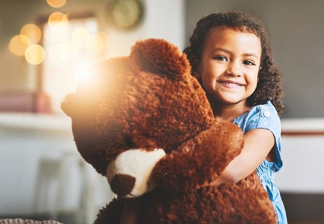 """""""For a child teddy bears tend to have positive associations."""""""