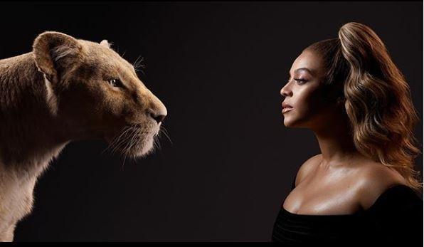 Beyonce en Nala