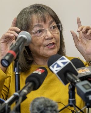 Patricia de Lille is fighting to keep her job as mayor of Cape Town. (Jaco Marais, Gallo Images, Netwerk24, file)