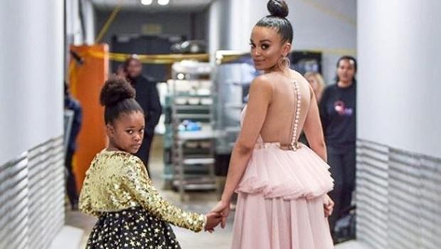 pearl thusi,daughter,young moms