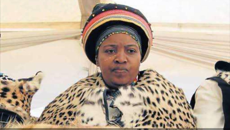 Queen Noloyiso Sandile.
