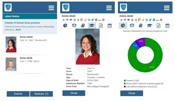 School admin apps for parents in South Africa