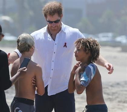 Prince Harry in Durban