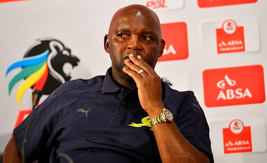 Mamelodi Sundowns Absa Premier League coach of the month (April 9 2018) Pitso MosimanePicture: Themba Makofane