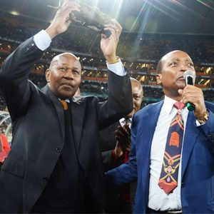 Motsepe commits to paying Sundowns salaries in full - Sport24