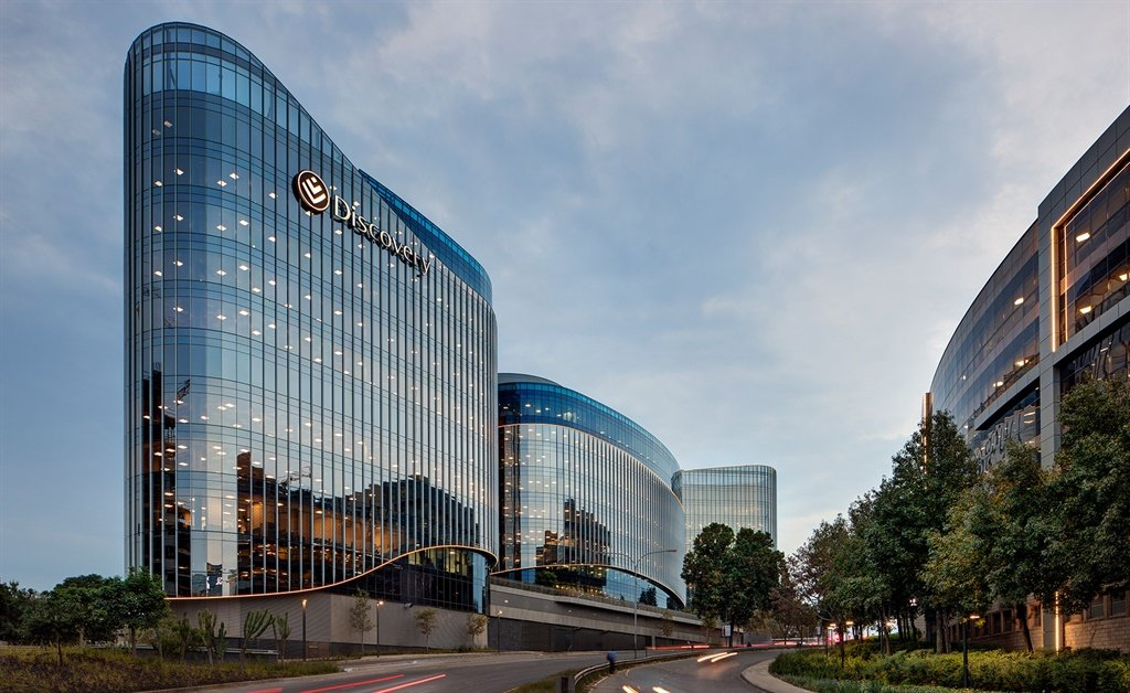 Discovery headquarters in Sandton (Boogertman and
