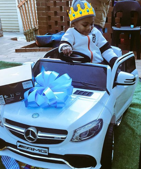 Pics Emtee S Son Gets His Own Benz Daily Sun