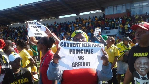 During a rally at Curries Fountain, ANC members threatened to make KwaZulu-Natal ungovernable.