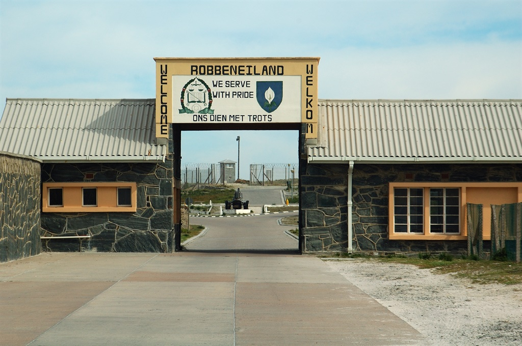Entrance to the High-Security Prison at Robben Isl