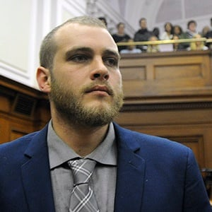 Axe murderer Henri van Breda has been sentenced to three life sentences. (File)